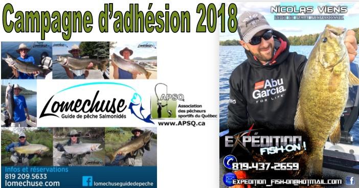 Campagne d'adhésion 2018 - Sorties guidées sur le lac Memphrémagog