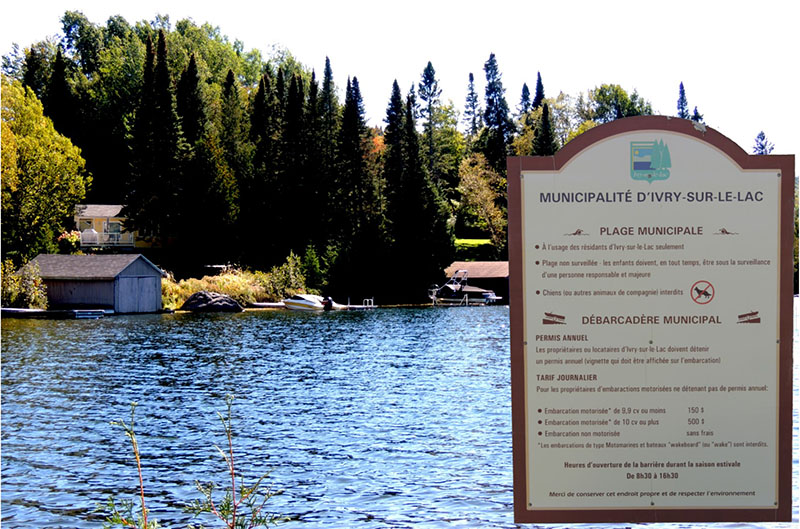 L'Association des Pêcheurs Sportifs du Québec conteste la validité des règlements d'Ivry-sur-le-Lac relatifs à l'accès au Lac Manitou