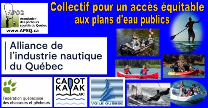 Collectif pour un accès équitable aux plans d'eau publics